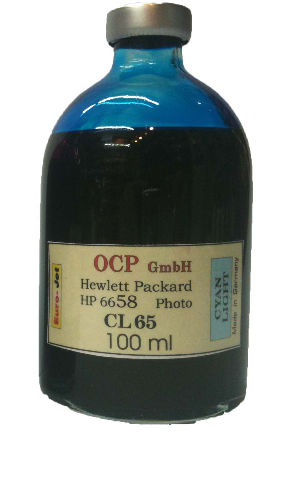 HP 100ml Light Cyan