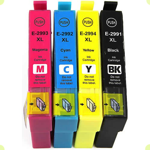 EPSON 29XL-T2991/2/3/4  BLACK+CYAN+MAGENTA+ YELLOW ΣΥΜΒΑΤΟ SET