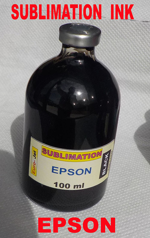 SUBLIMATION INK BLACK  100ml for EPSON