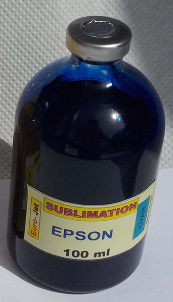 SUBLIMATION INK CYAN 100ml for EPSON