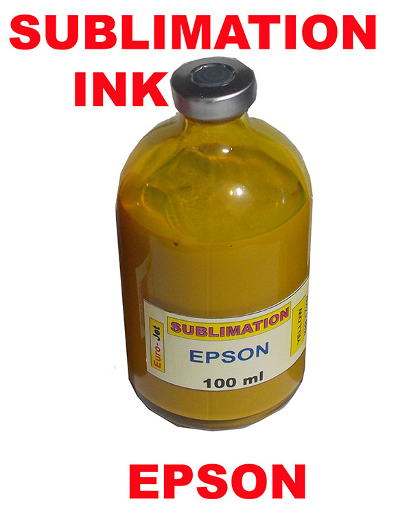 SUBLIMATION INK YELLOW 100ml for EPSON