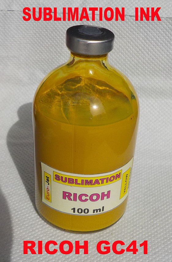 RICOH GC41 SUBLIMATION INK YELLOW 100ml
