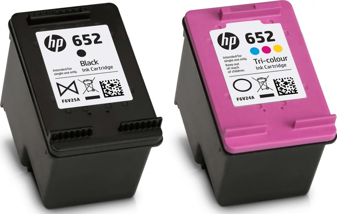 HP 652 BLACK + COLOR