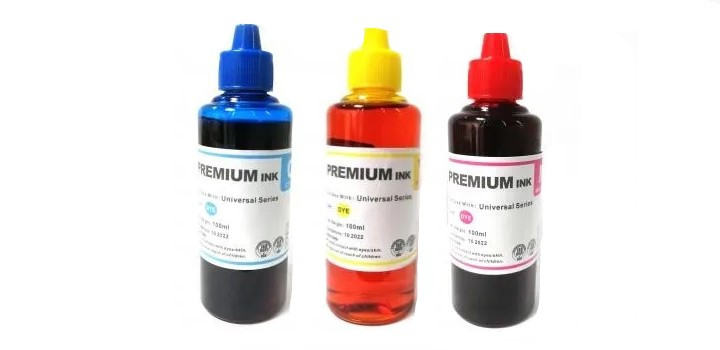 Set HP 100ml Cyan Magenta Yellow