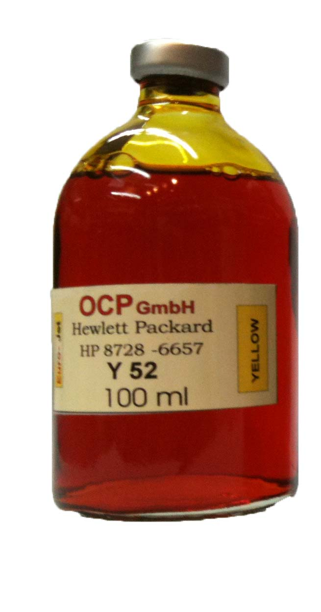 HP 100ml Yellow